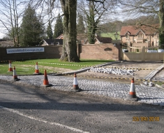Silver Granite Setts, Buckinghamshire