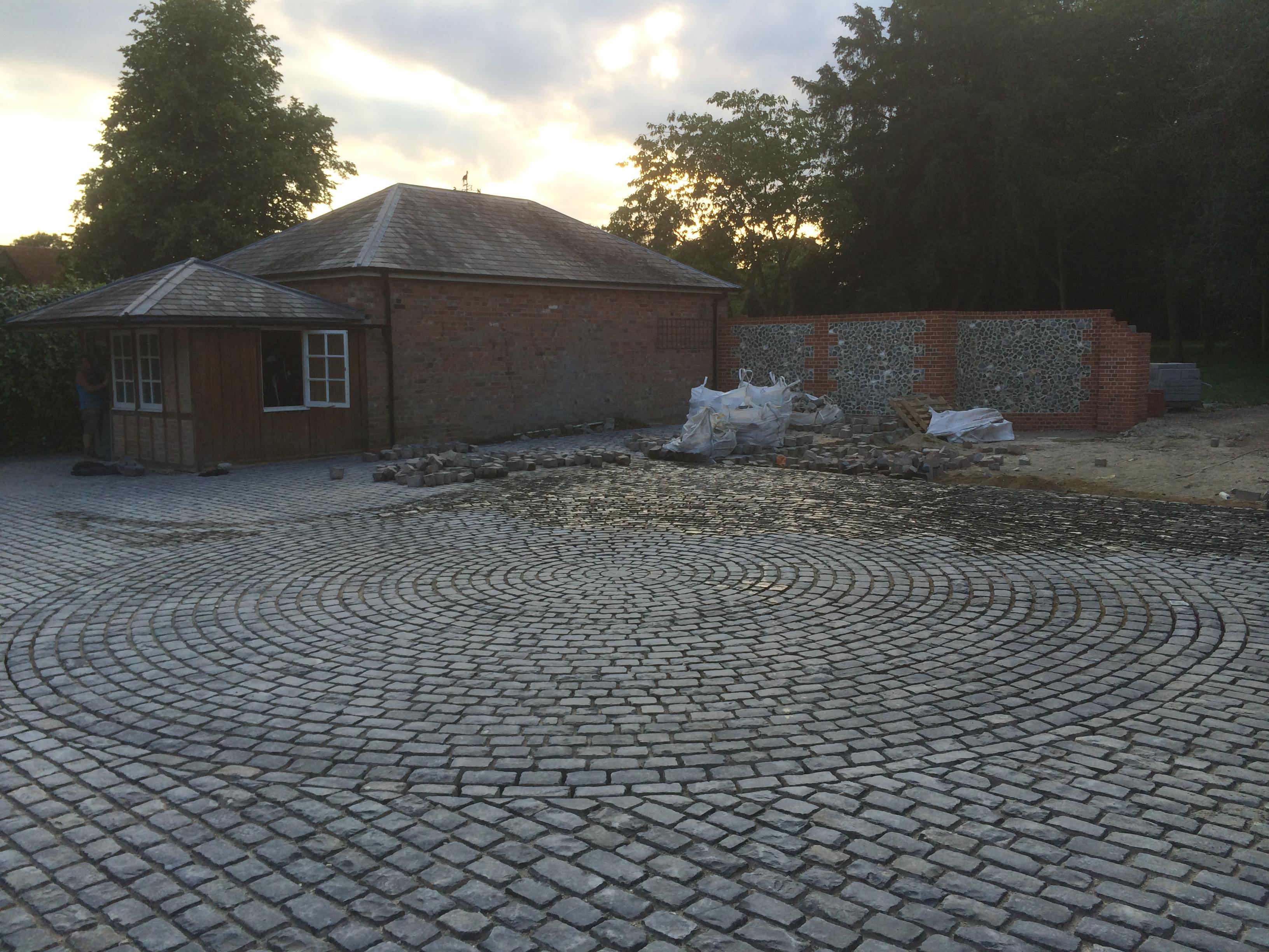 Traditional Cobble Amp Yorkstone Driveways