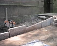 CHURCH STEPS RESTORATION BRINDLE (18)