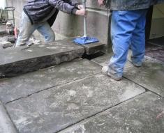 CHURCH STEPS RESTORATION BRINDLE (5)