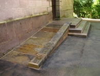 CHURCH STEPS RESTORATION BRINDLE