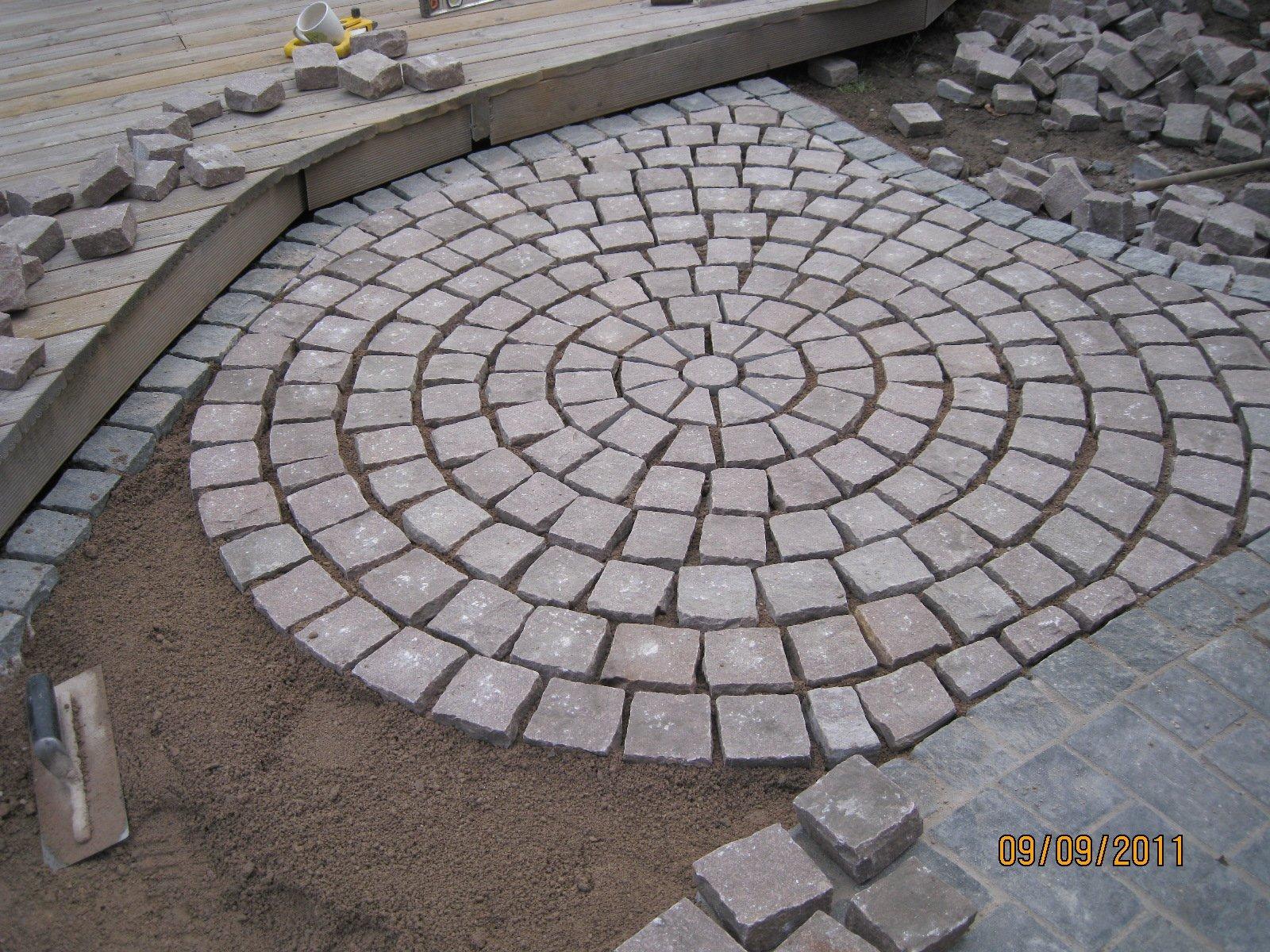 how to cut granite setts