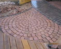 Pink Granite Setts