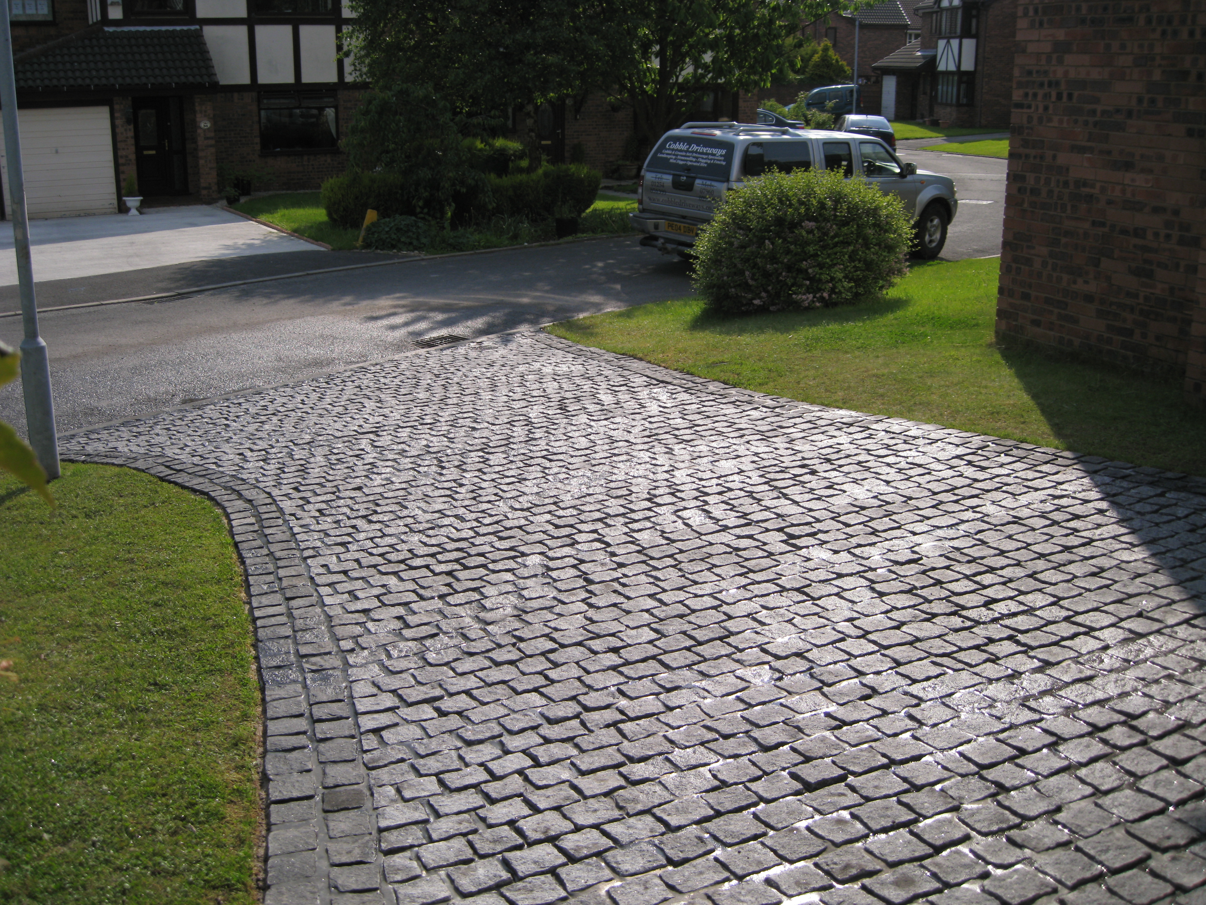 Speckled Grey Setts Westhoughton