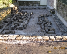 SMALL RECLAIMED COBBLE DRIVE LANCASHIRE (3)