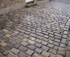 SMALL RECLAIMED COBBLE DRIVE LANCASHIRE (30)