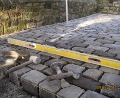 SMALL RECLAIMED COBBLE DRIVE LANCASHIRE (8)