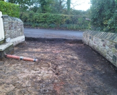 SMALL RECLAIMED COBBLE DRIVEWAY LANCASHIRE (6)