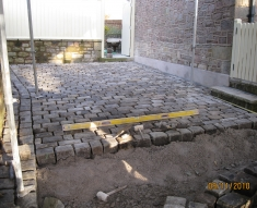 SMALL RECLAIMED COBBLE DRIVEWAY LANCASHIRE (7)